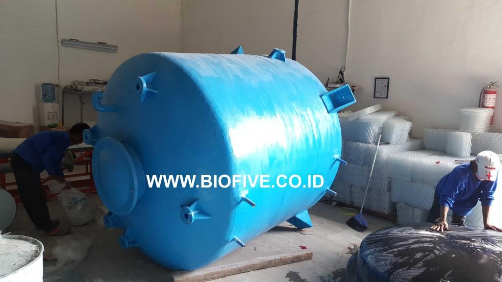 Tangki Air Fiberglass 6000 liter